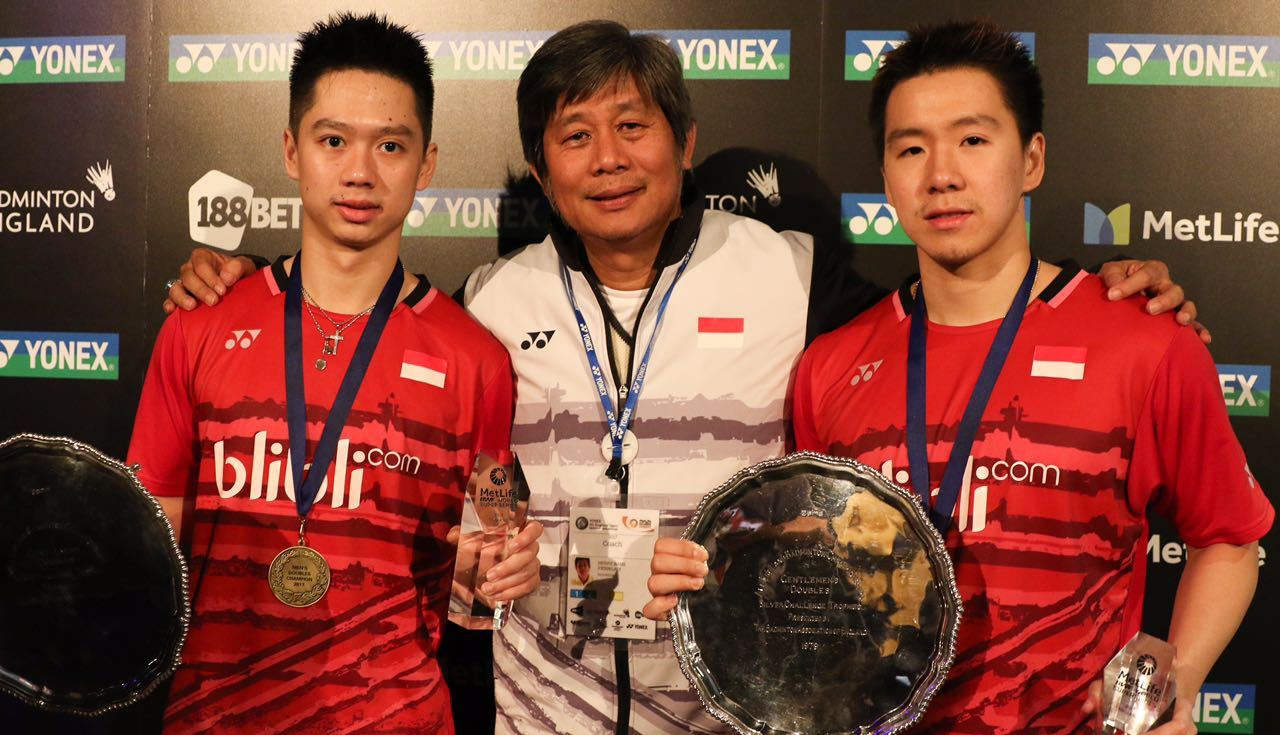 Three-Way Honours – Doubles Finals: YONEX All England Open 2017