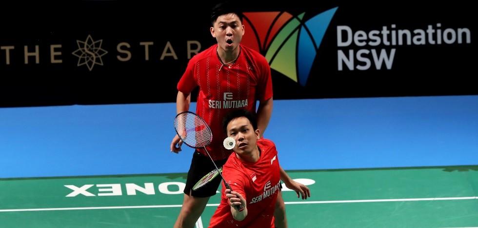 Tan/Setiawan in Title Bout – Day 5: CROWN GROUP Australian Open 2017