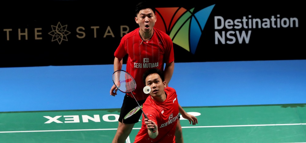 Tan/Setiawan in Title Bout – Day 5: CROWN GROUP Australian Open 2017