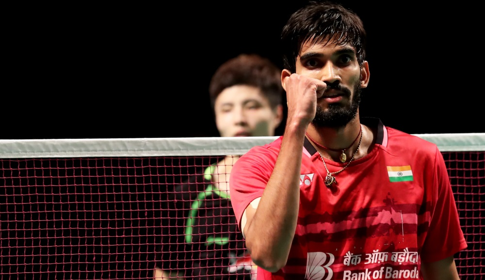 Three-in-a-Row for Kidambi – Day 4: CROWN GROUP Australian Open 2017