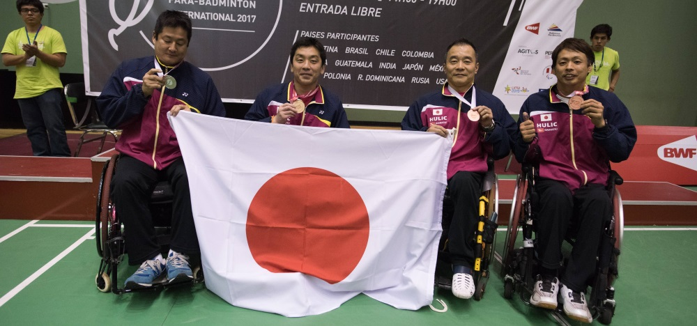 Nagashima Shines at Peru Para-Badminton International
