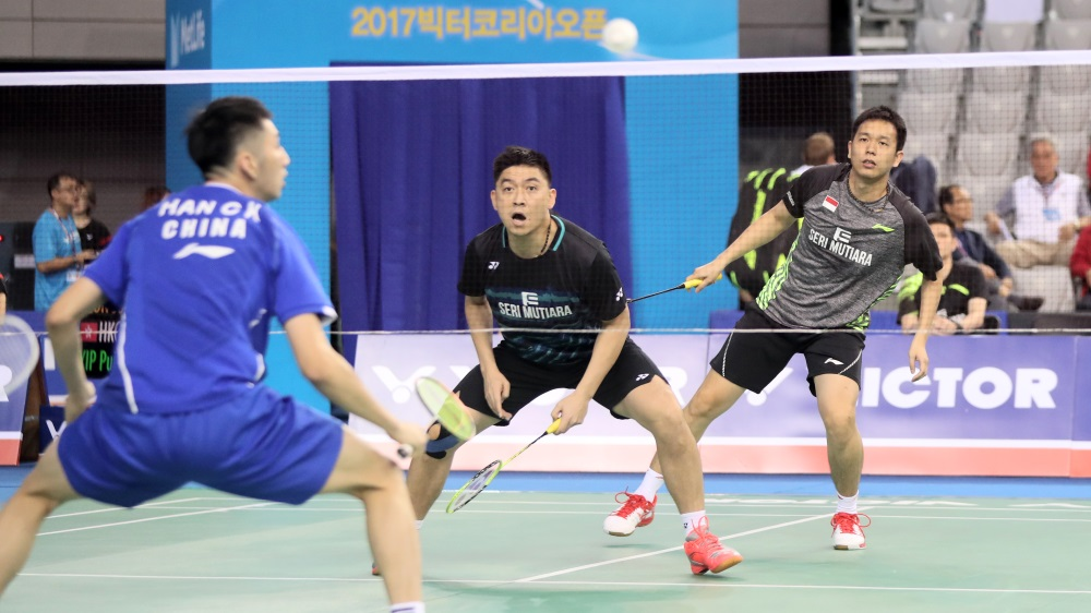 History-Maker Oliveira – Day 2: Victor Korea Open 2017