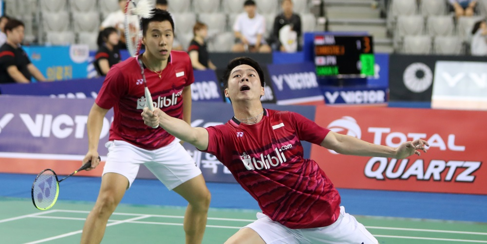 Bright Day for Indonesia – Day 4: Victor Korea Open 2017