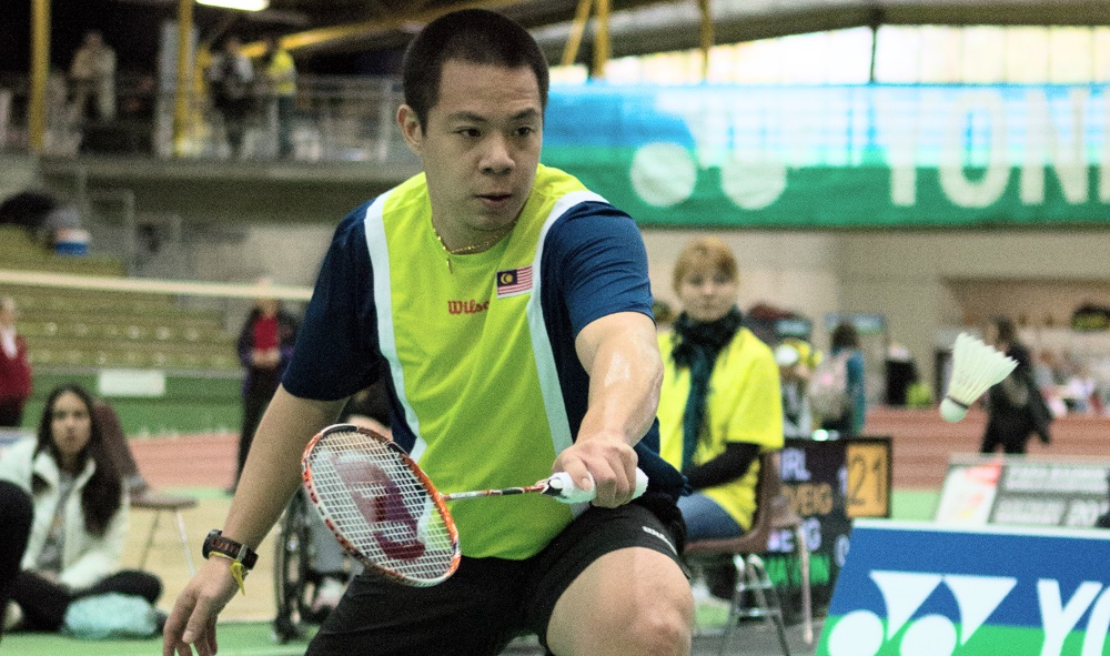 Cheah Wins Double at Japan Para-Badminton International