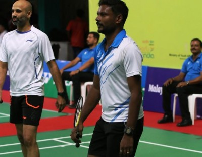 Sanave and Rupesh in Quarter-Finals - Manorama BWF World Senior Championships 2017