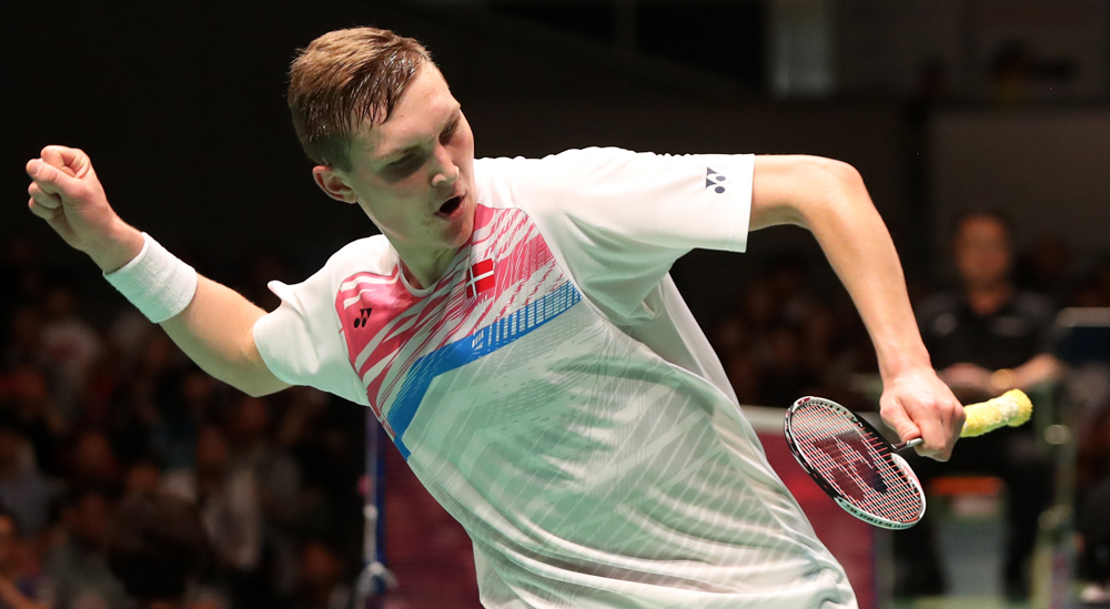 Axelsen Is Numero Uno