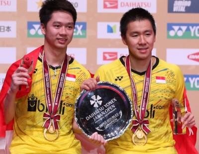 'Minions' to the 'Four'– Doubles Finals: DAIHATSU YONEX Japan Open 2017