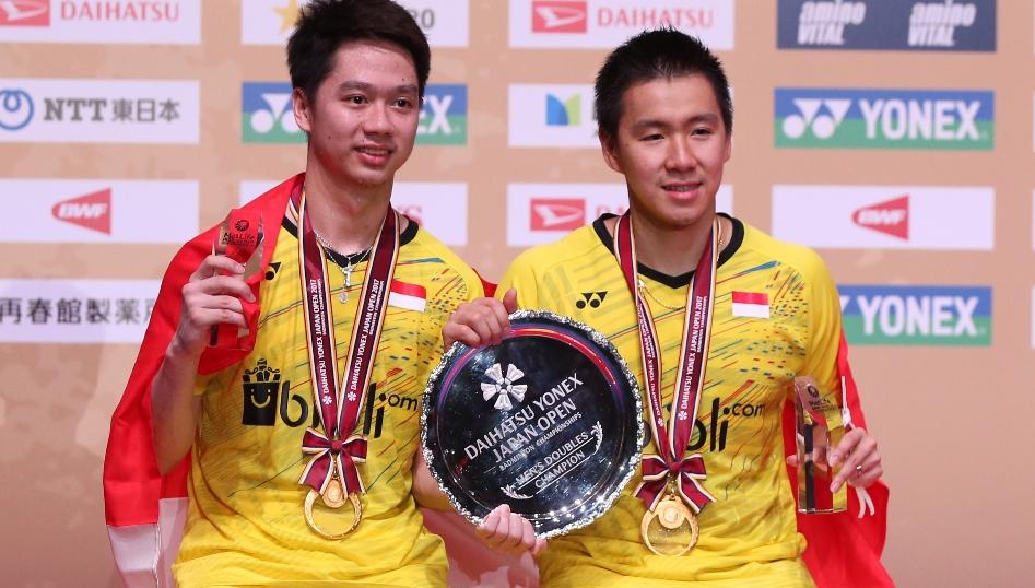 'Minions' to the 'Four'– Doubles Finals: DAIHATSU YONEX Japan Open 2017