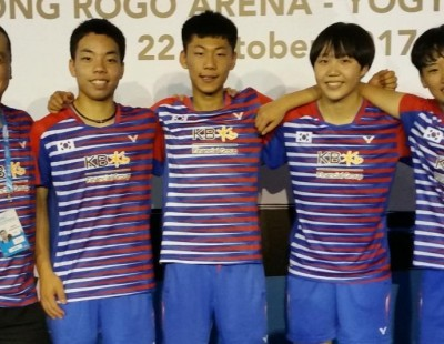 Courageous Korea! – Day 4: BWF World Junior Mixed Team Championships 2017