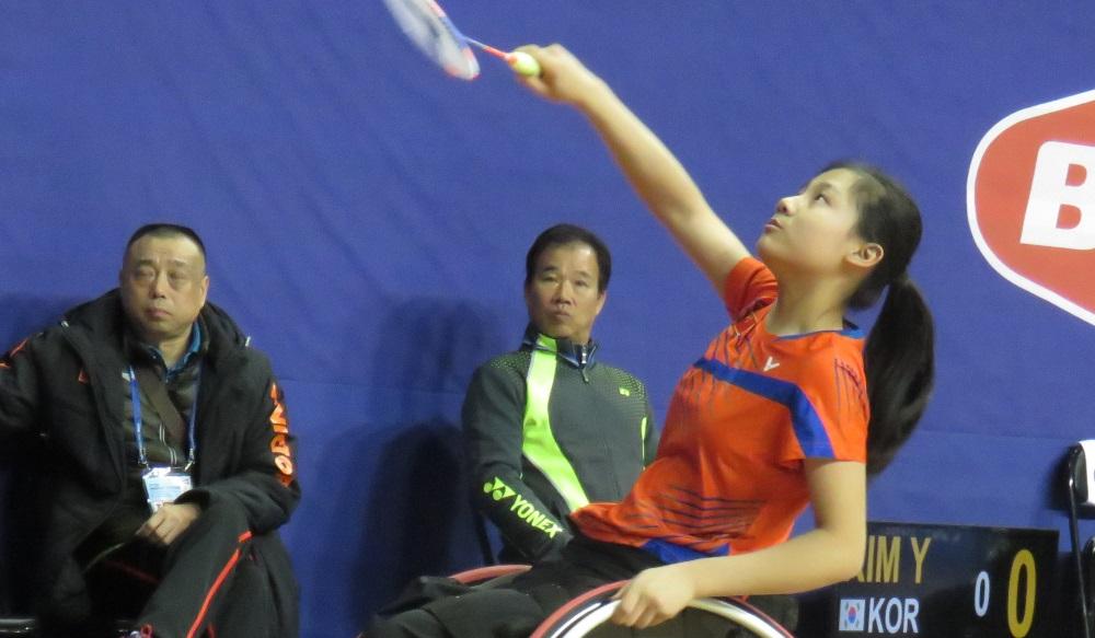 Liu Storms into Quarters – Day 3: BWF Para-Badminton WC 2017
