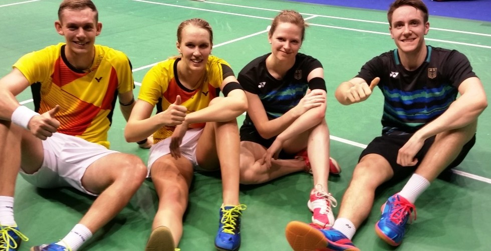 Germans in the 'Mixed' – Day 1: YONEX-SUNRISE Hong Kong Open 2017