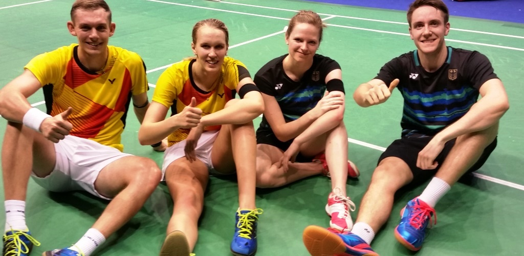 Germans in the 'Mixed' – Day 1: YONEX-SUNRISE Hong Kong Open 2017
