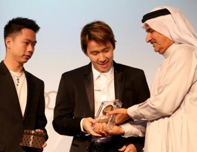 Gideon & Sukamuljo Win Top Honour
