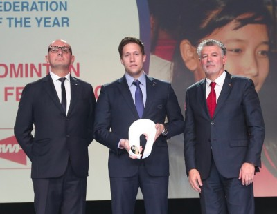 BWF Named 'Federation of the Year' by Peace and Sport