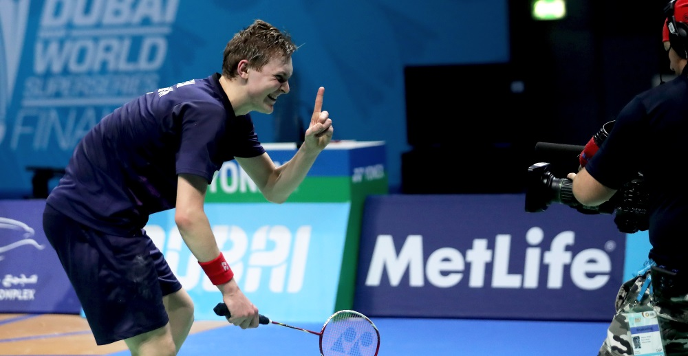 Winning Dubai Helped Me Loosen Up: Axelsen