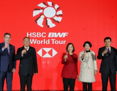 BWF Launches HSBC Partnership and 'Guangzhou Finals'