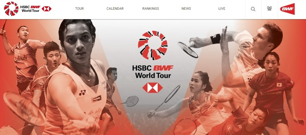 "BWF""世界巡回赛"" 网站上线"