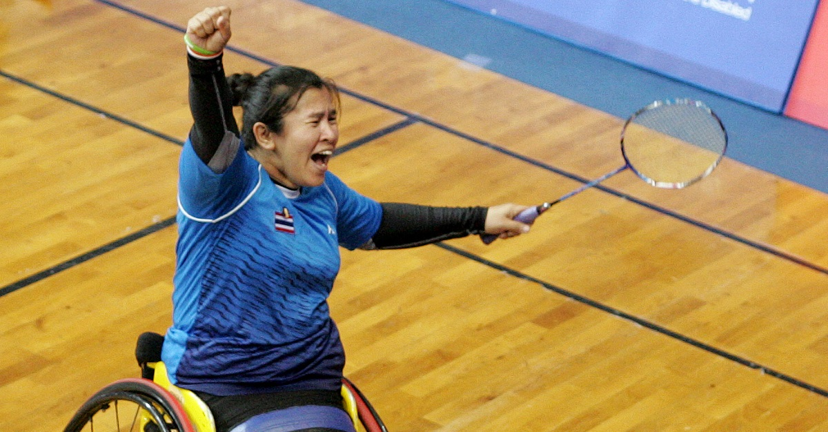 Kim, Wetwithan in Spotlight: Spanish Para-Badminton International 2018