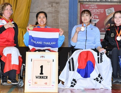 Double for Sujirat Pookkham – Finals: Spanish Para-Badminton International 2018