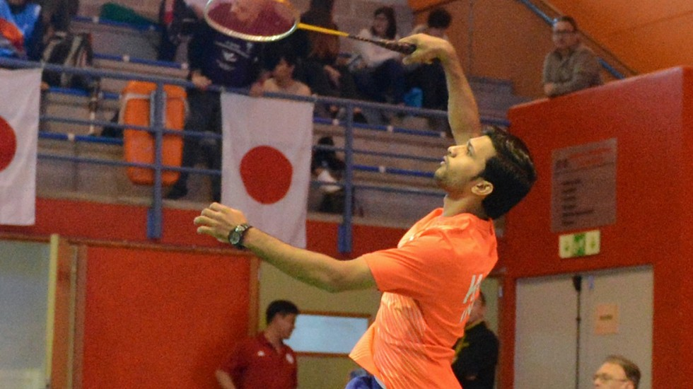 Kadam, Sagoy Emerge Champions – Finals: Spanish Para-Badminton International 2018