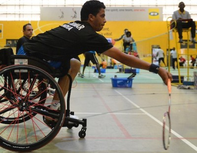 On-Court Classes – Day 2: Uganda Para-Badminton Intl. 2018