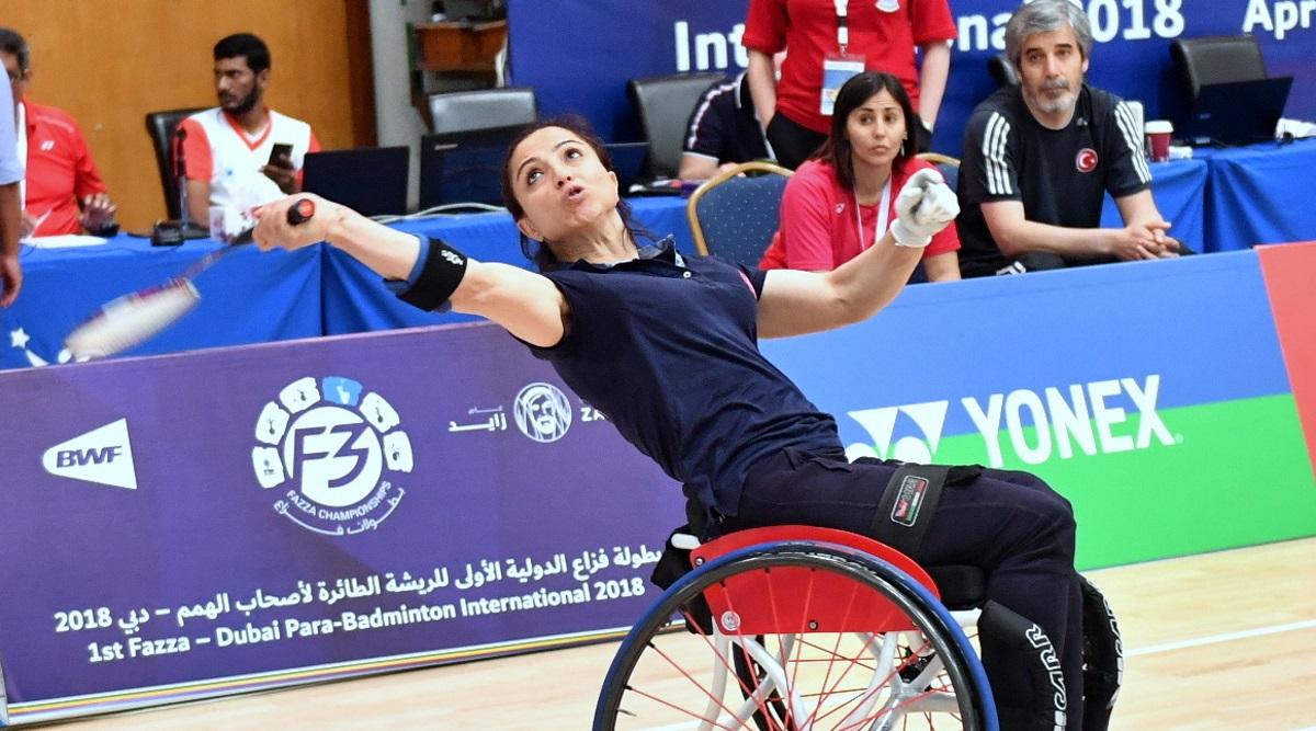 奥提拉和赛金的夺金潮 —— 首届Fazza迪拜残疾人羽毛球国际赛回顾