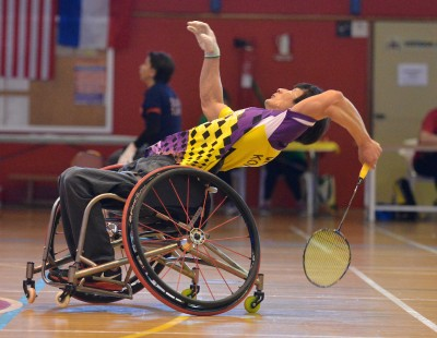 Wheelchair Para-Badminton in Focus
