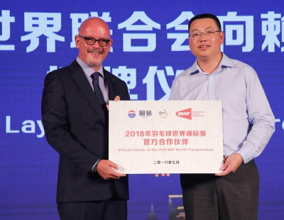BWF Announces Laymau Partnership