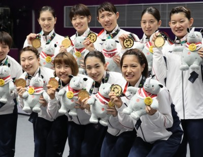 No Stopping Japan – Team Finals: Asian Games 2018