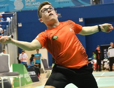 Triple Crown for Tavares – Review: Brazil Para-Badminton International 2018