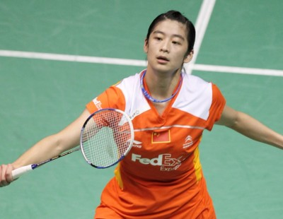 Badminton Champ Shows Golf Stars a Thing or Two