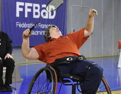 Christie Bounces Back – Day 3: VYV BWF European Para-Badminton Championships 2018