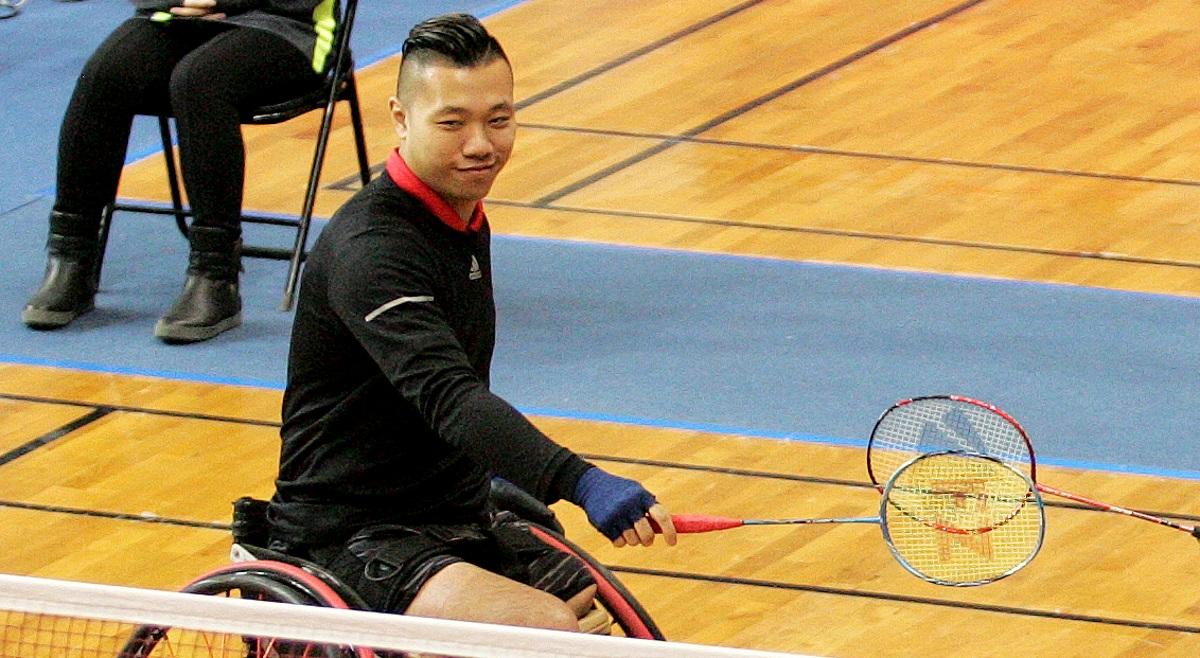 Historic Win for Chan Ho Yuen – Finals: Australia Para-Badminton International 2018