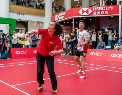HSBC Life Promotes Healthy and Active Lifestyle Through Badminton
