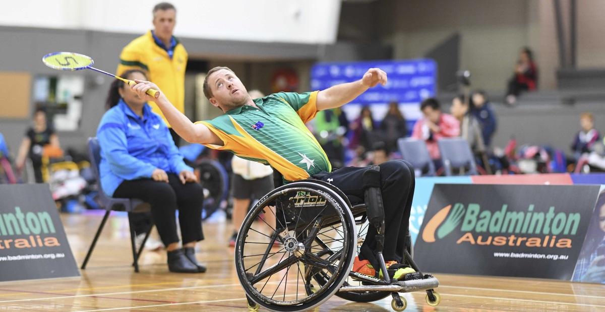 Robinson, Davis Dominate – VICTOR Oceania Para-Badminton Championships 2018