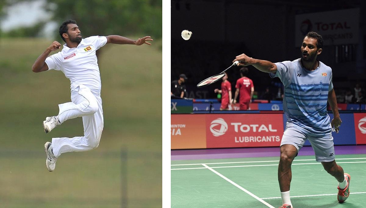 Badminton Still No. 1 for Sri Lankan Cricket's Latest Debutante