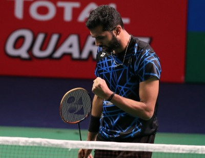 Battling Acid Reflux, Prannoy Celebrates Gains