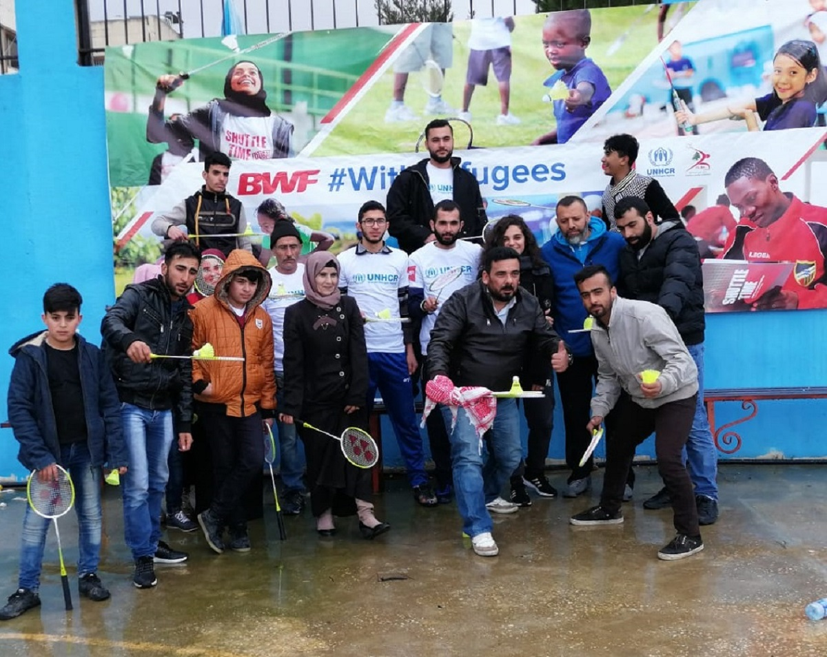 Badminton and UNHCR Unite for Refugee Cause