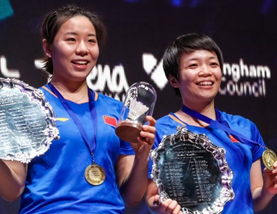 Chen, Jia Ride a Hot Streak – All England: Finals