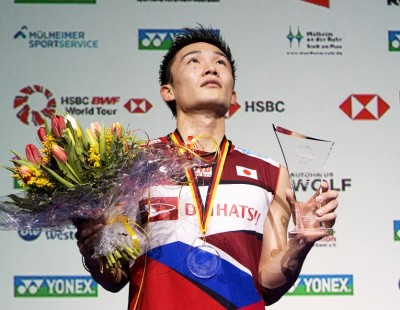 Momota Races Ahead in Earnings