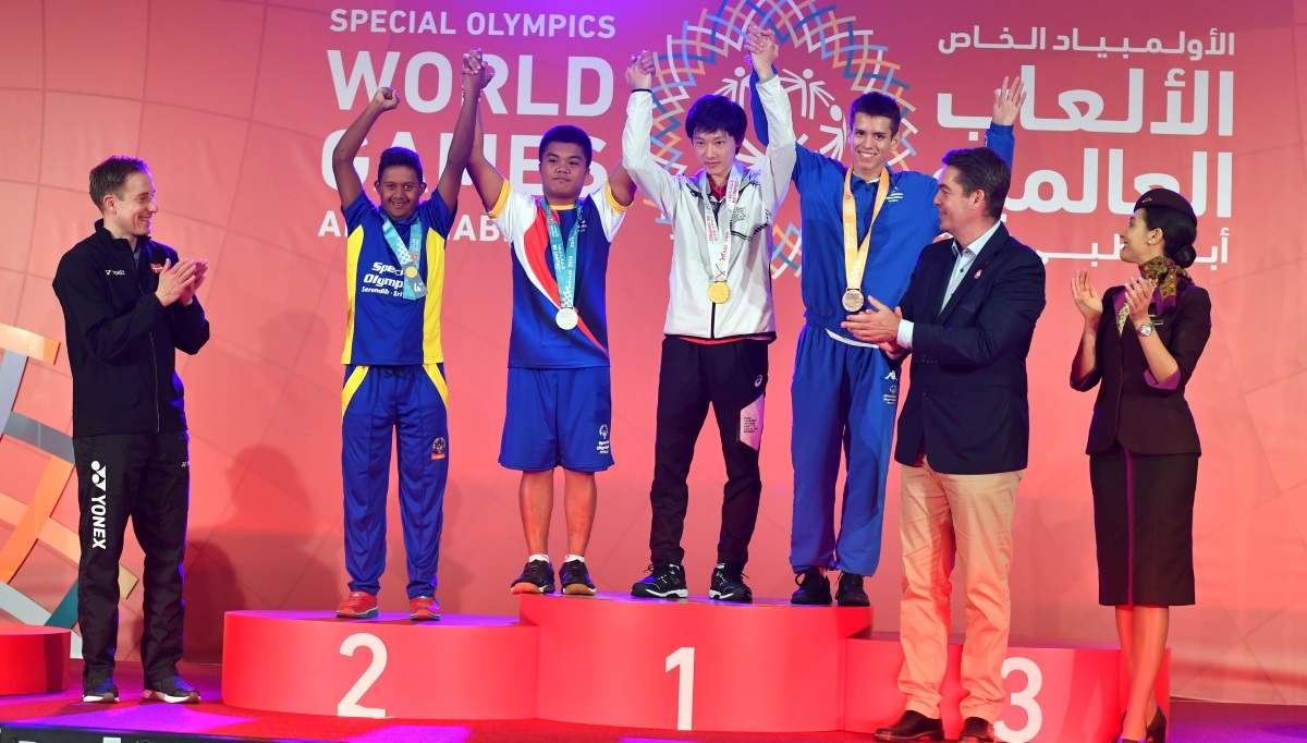 Badminton Makes a Mark at Special Olympics