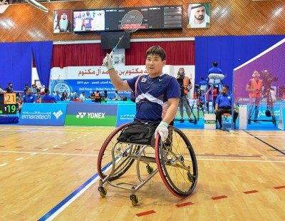 Asia Shares Out Wins - Dubai Para-Badminton Int'l