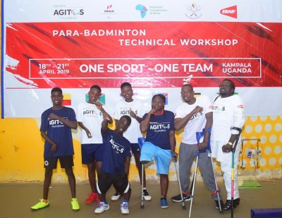 Sky's the Limit for Para Badminton in Uganda