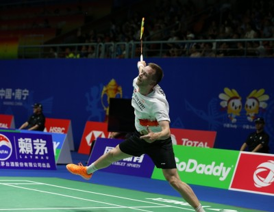 'Greatest moment ever' says Greenland - Sudirman Cup '19
