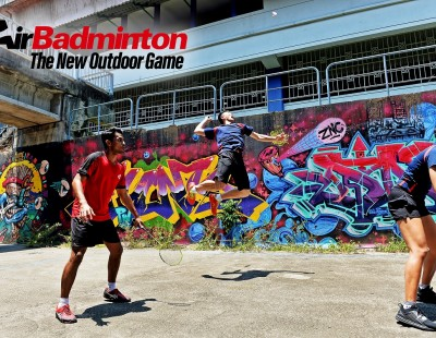 AirBadminton - The New Outdoor Game