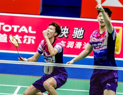 China Brush Off Scare – Sudirman Cup '19