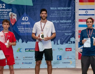 Aram Mahmoud Receives IOC Refugee Athlete Scholarship