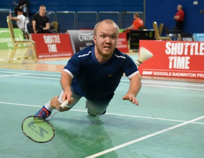Coombs Breaks Drought - Irish Para-Badminton International