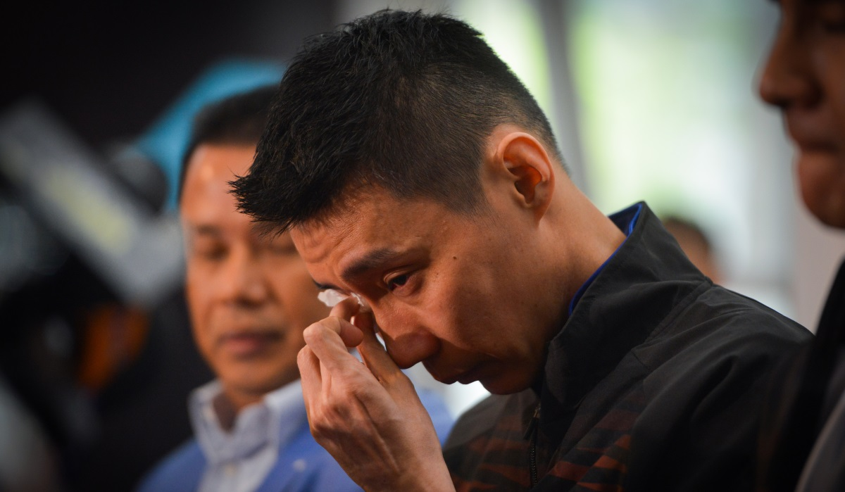 Lee Chong Wei Bids Farewell