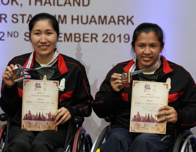 Double Gold for Wetwithan – Thai Para-Badminton Int'l: Finals